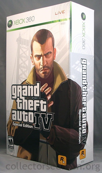 Grand Theft Auto IV - Collectors Edition, Xbox 360