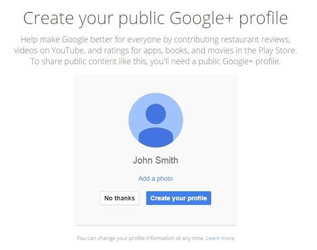 Gmail inschrijving Google+