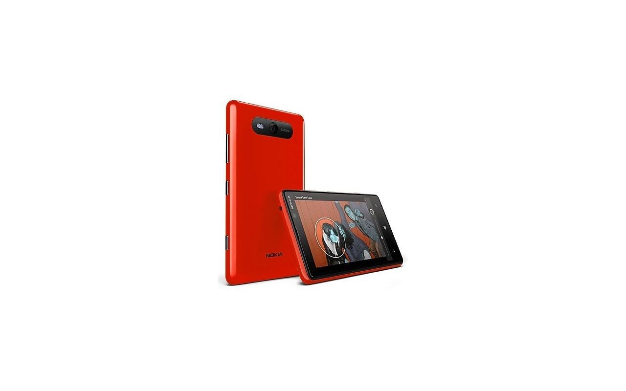 Nokia Lumia 820 Rood
