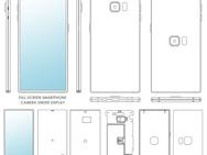 Patenttekeningen van 'fullscreensmartphones' van Oppo, LG en Samsung