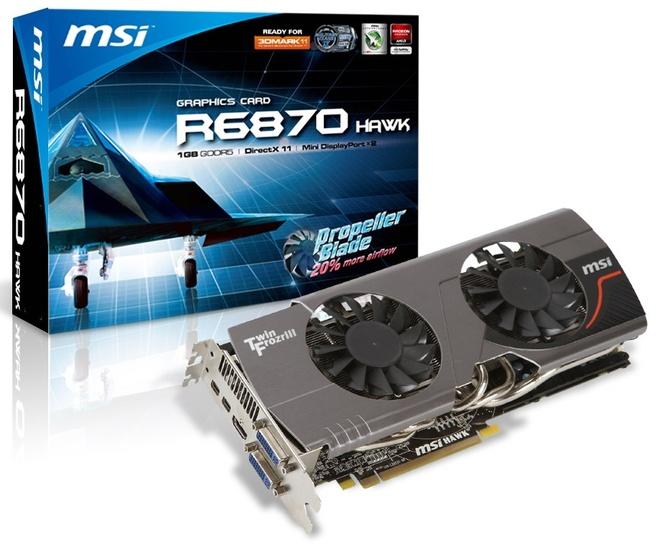 MSI HD 6870 Hawk