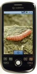 HTC Magic met Mariposa-worm