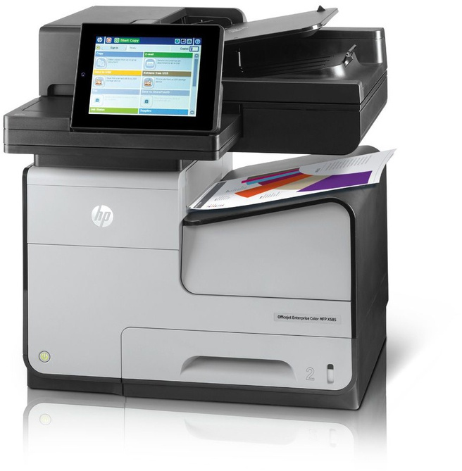 HP Enterprise Color MFP X585dn