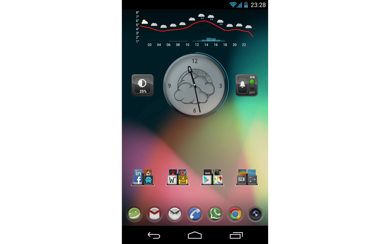 AOKP JB-MR1 Build 2 screenshot