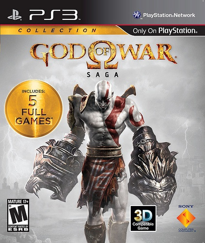 Sony Computer Entertainment God of War SAGA Collection (US), Playstation 3