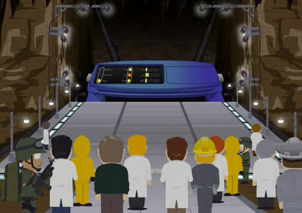 Kwetsbare router in South Park
