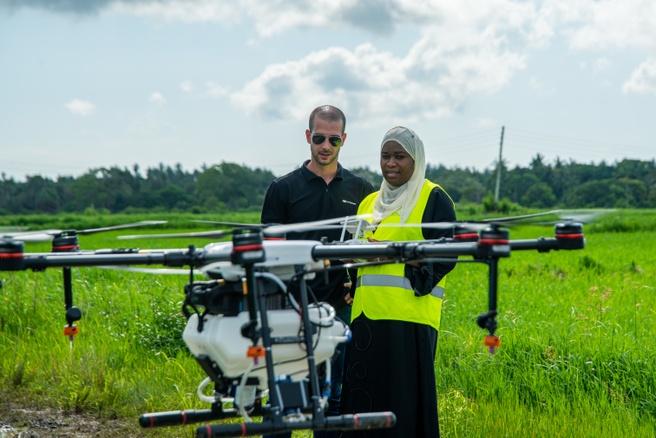 Drone malariabestrijding