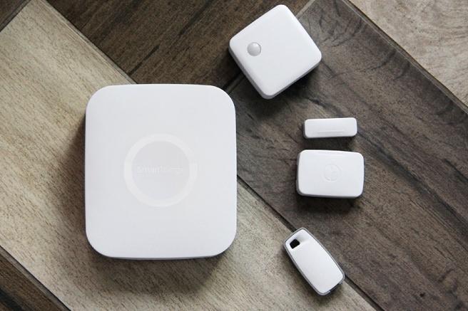 Samsung SmartThings Hub en sensoren
