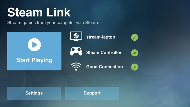 Valve Steam Link Android