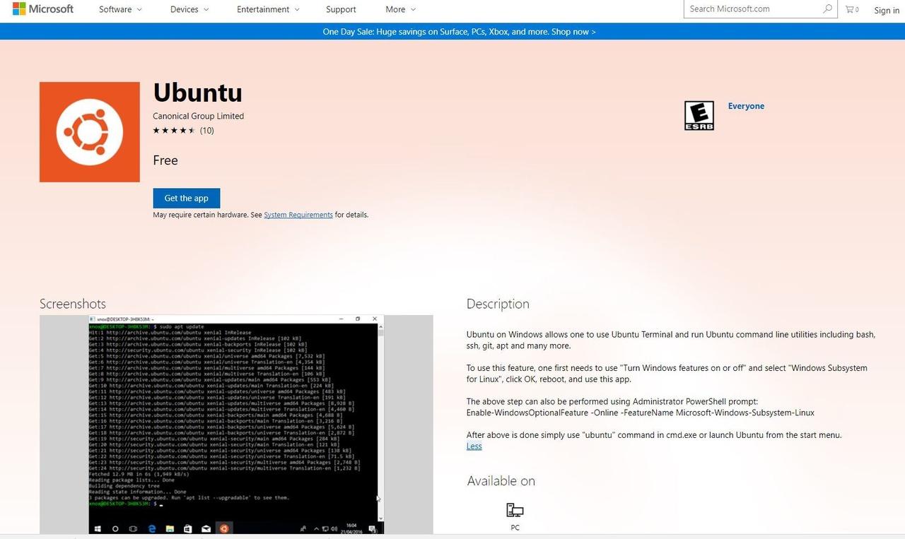 Canonical brengt Ubuntu uit in Windows Store - Computer - Nieuws