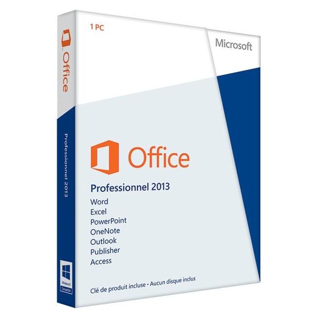 Microsoft Office 2013 Professional 2013 FR