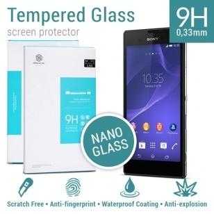 Nillkin Screen Protector Tempered Glass 9H Nano Sony Xperia T3