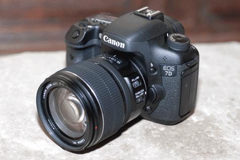 Canon EOS 7D handson inleiding