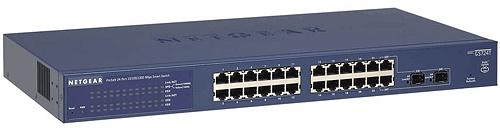 Netgear Prosafe Smart Switch 24-poorts GS724T-400EUS