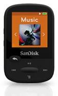 Sandisk Sansa Clip Sport 8GB zwart 8GB Zwart