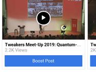 Facebook Lite voor iOS, april 2019