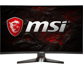 MSI Optix MAG27C Rood, Zwart