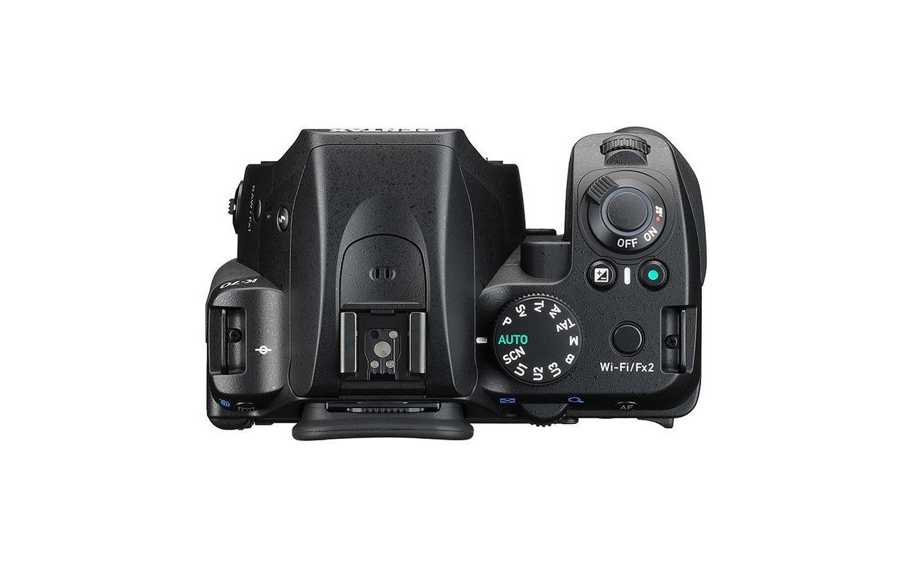 Pentax K-70 DSLR Body Zwart