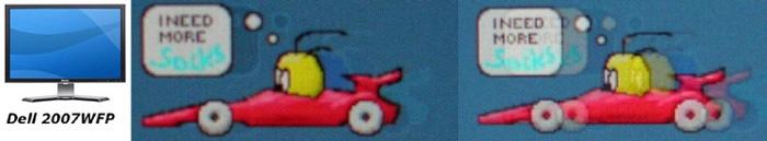 """""""PixPerAn weergave van de Dell 2007WFP"""""""