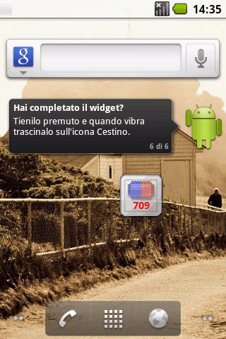 HTC Hero met Froyo