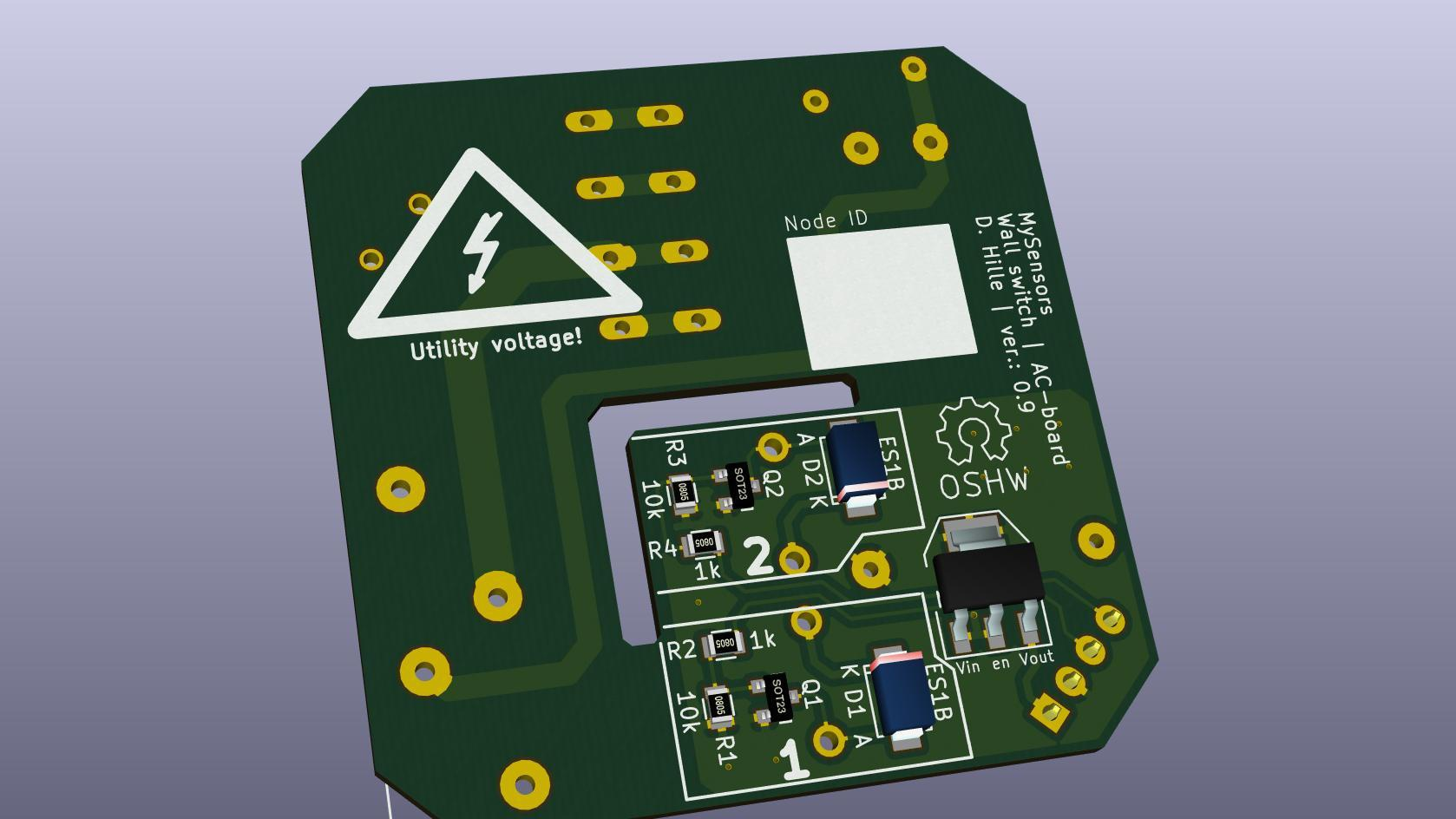 KiCAD render back