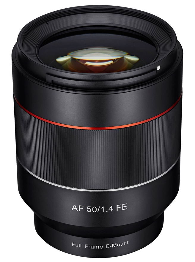 Samyang 50mm f/1.4 voor Sony FE-camera's