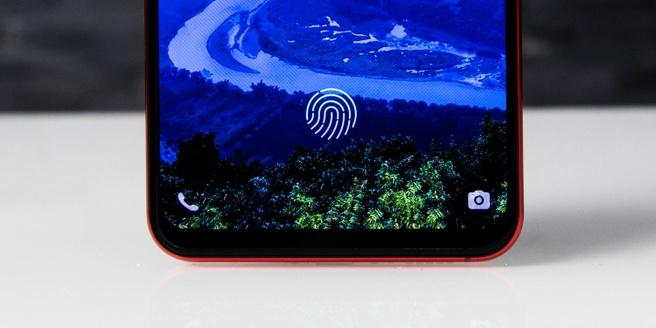 Vivo X21 - vingerafdrukscanner achter het scherm