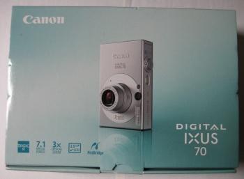 Afb. 1. De verpakking met een afbeelding van de camera.