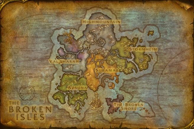 The Broken Isles - World of Warcraft