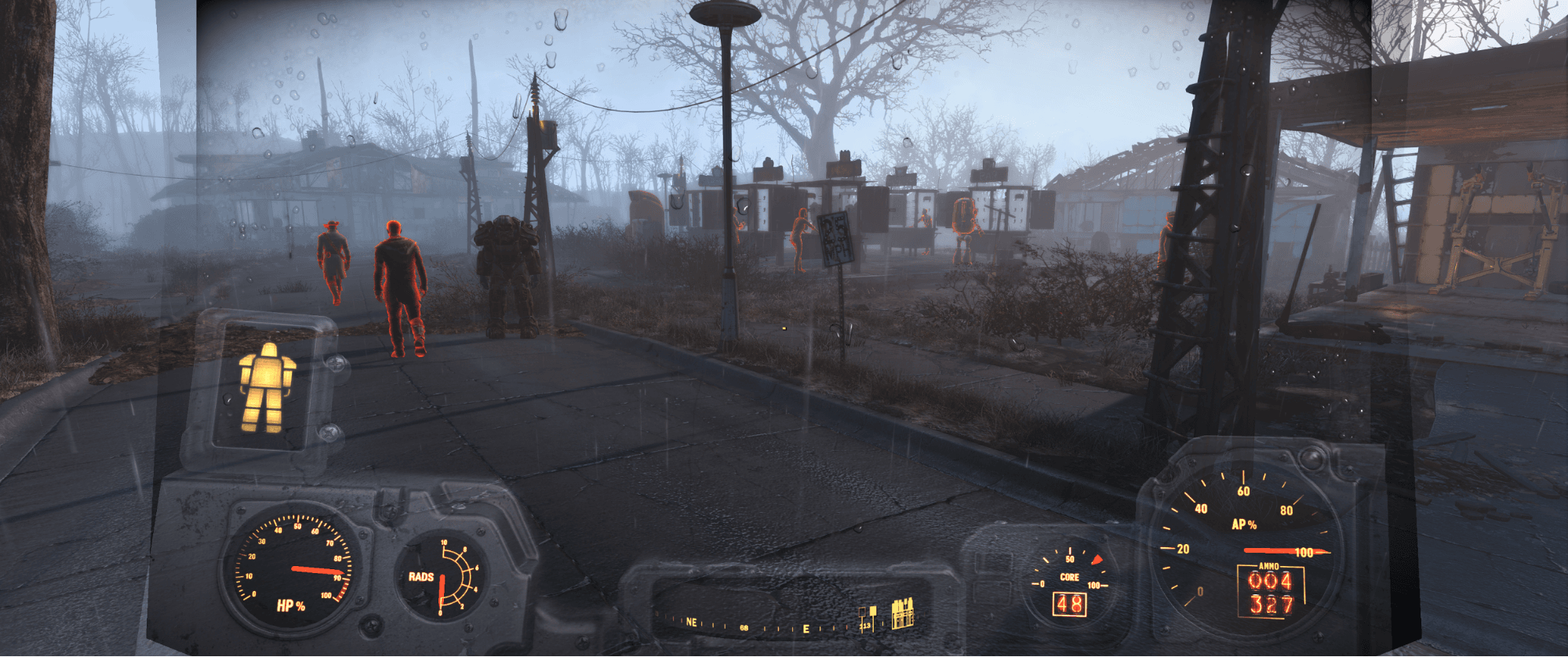 Fallout 4 Power Armor UI issues