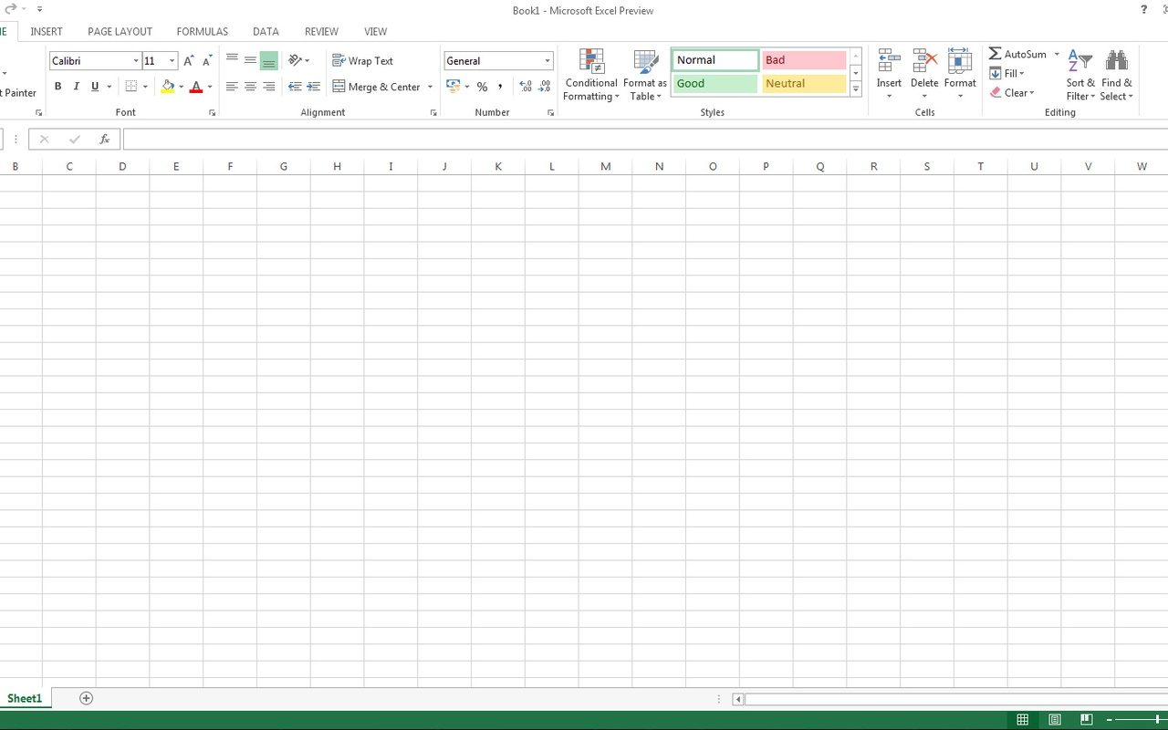 Office 2013 - Excel