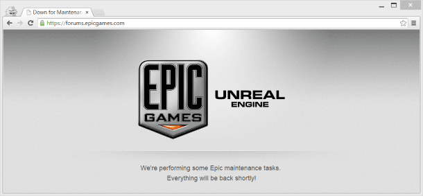 Epic Forum screenshot na hack