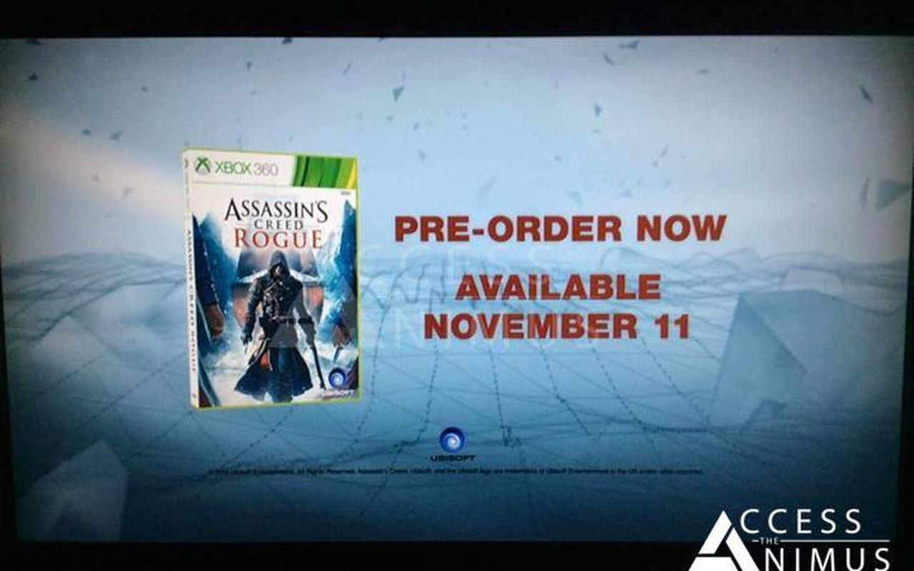 Assassins Creed Rogue
