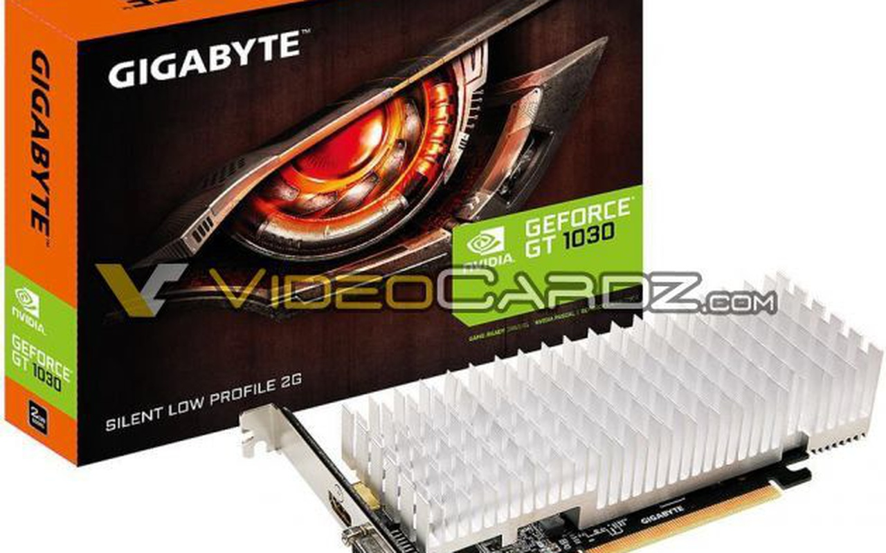 Nvidia GT 1030-videokaarten