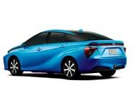 Toyota FCV render achter