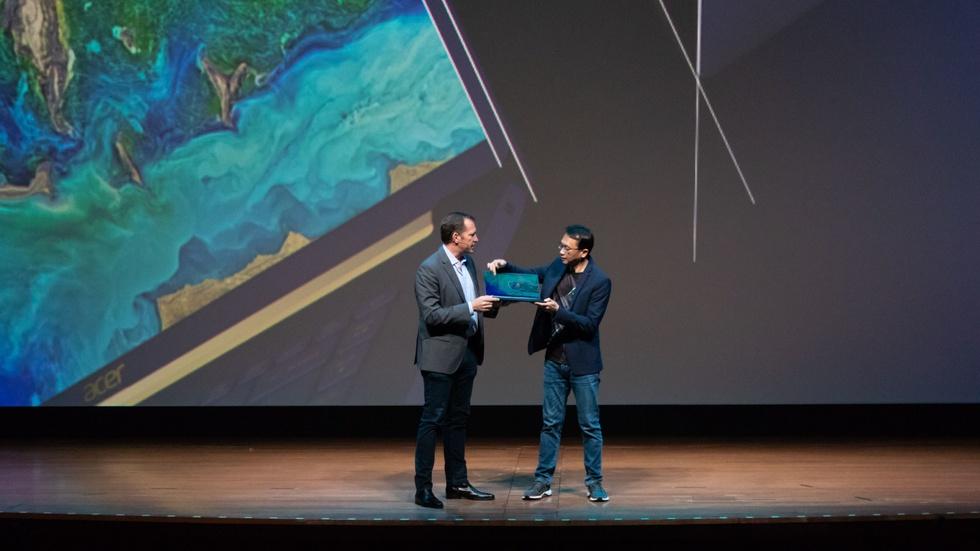 Acer-presentatie in New York