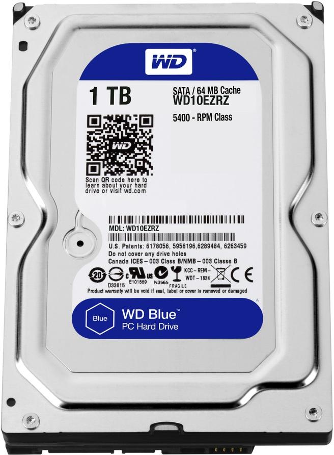 WD Blue WD10EZRZ, 1TB