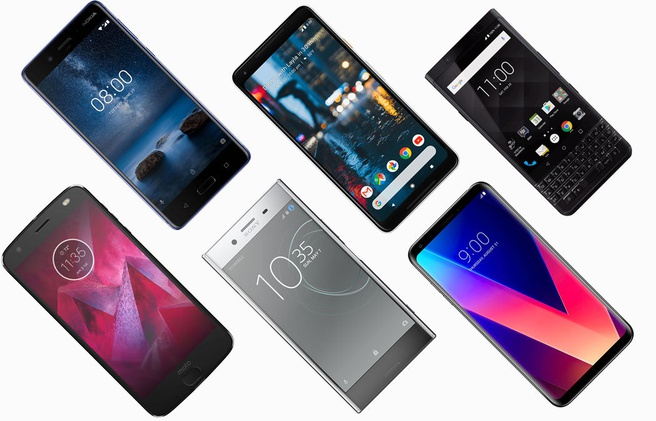 Android Enterprise Recommended telefoons