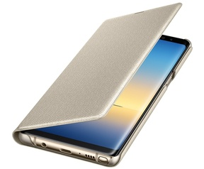 Samsung Galaxy Note 8 LED View Cover  Goud
