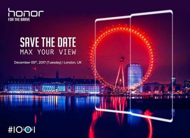 Uitnodiging Honor 5 december