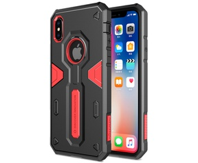 Nillkin Hard Case Defender - Apple iPhone XS Max (6.5'') - Rood  Rood