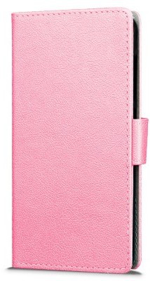 qMust Sony Xperia E5 Wallet Case - TPU frame - Pink