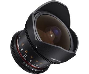 Samyang Optics 8mm T3.8 VDSLR UMC Fish-eye CS II