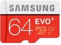 Goedkoopste Samsung EVO Plus 64GB microSDXC Card + SD-adapter