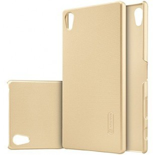 Nillkin Backcover Sony Xperia Z5 Premium - Super Frosted Shield - Gold