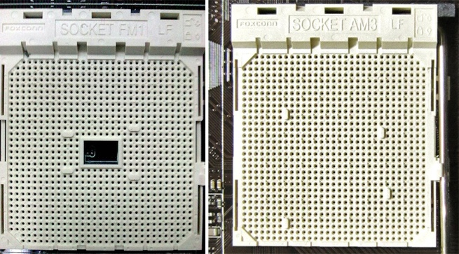 AMD Socket FM1 vs socket AM3+