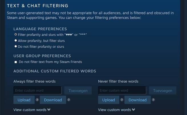 Valve Filter