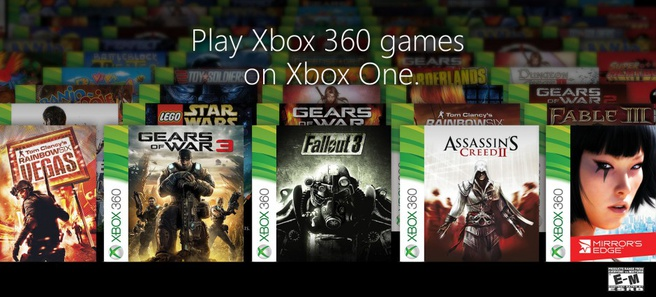 Xbox One eerste backwards compatibility-games
