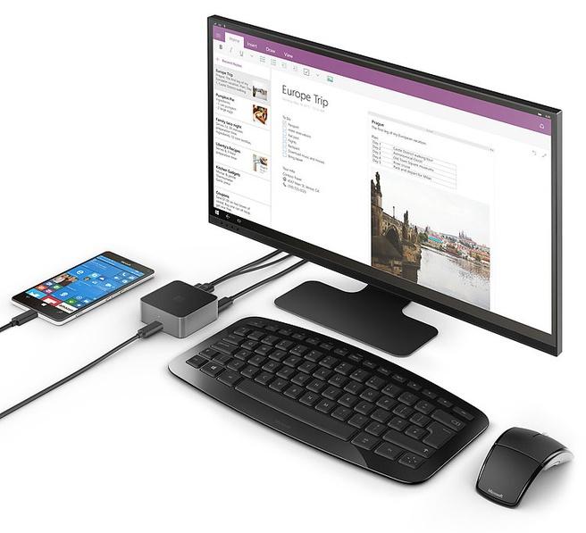 Microsoft Lumia 950 dock