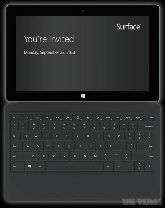 Microsoft Surface-event